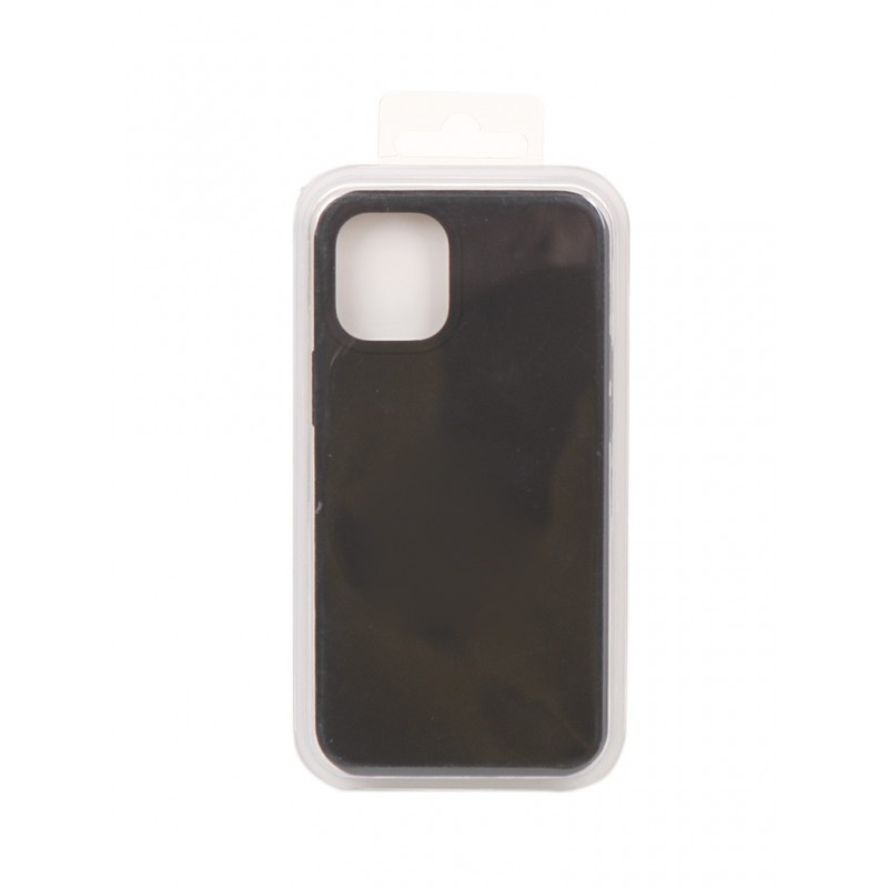 Чехол Innovation для APPLE iPhone 12 Mini Silicone Soft Inside Black 18009