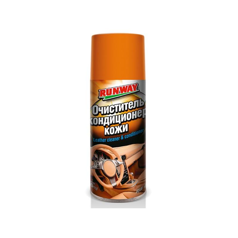 Очиститель и кондиционер кожи Runway 400ml RW6124