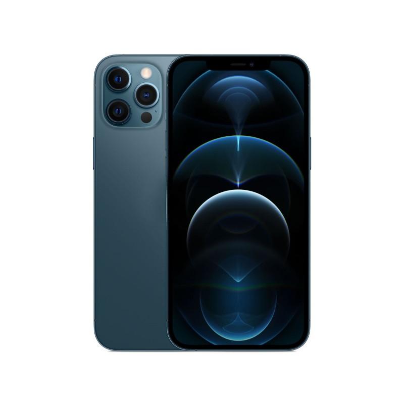 Сотовый телефон APPLE iPhone 12 Pro Max 128Gb Pacific Blue MGDA3RU/A Выгодный набор для Selfie + серт. 200Р!!!