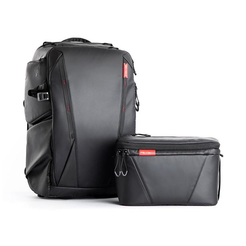 Pgytech OneMo Backpack 25L + Shoulder Bag Twilight Black P-CB-020
