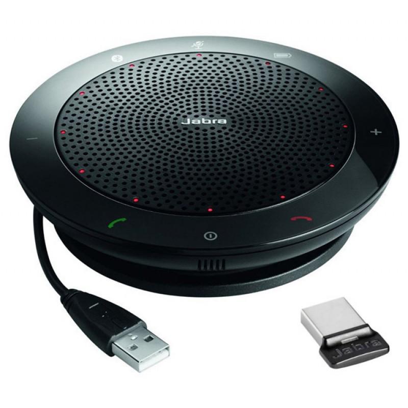 VoIP оборудование Jabra Speak 510+ MS Bluetooth USB NC WB Link 360 MS 7510-309