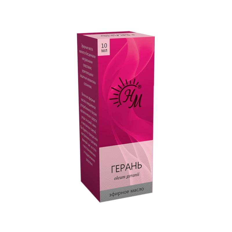 Масло эфирное Натуральные масла Герани 10ml