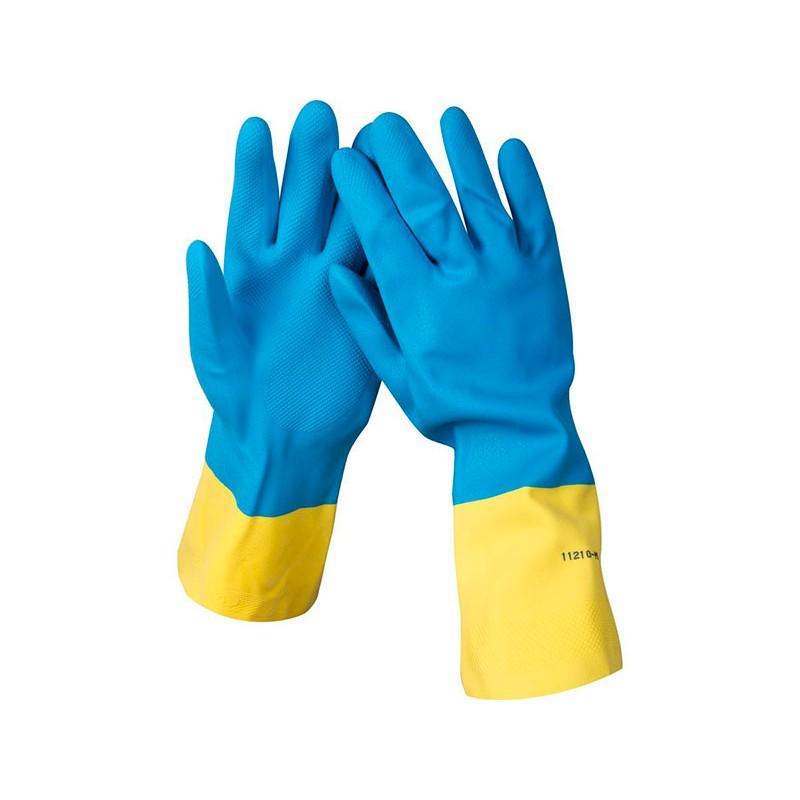 Перчатки латексные с неопреновым покрытием Stayer размер M 11210-XL