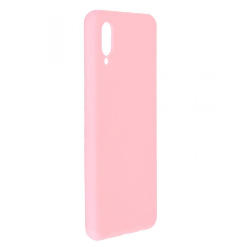 Чехол Neypo для Samsung Galaxy A02 2021 Soft Matte Silicone Pink NST21676