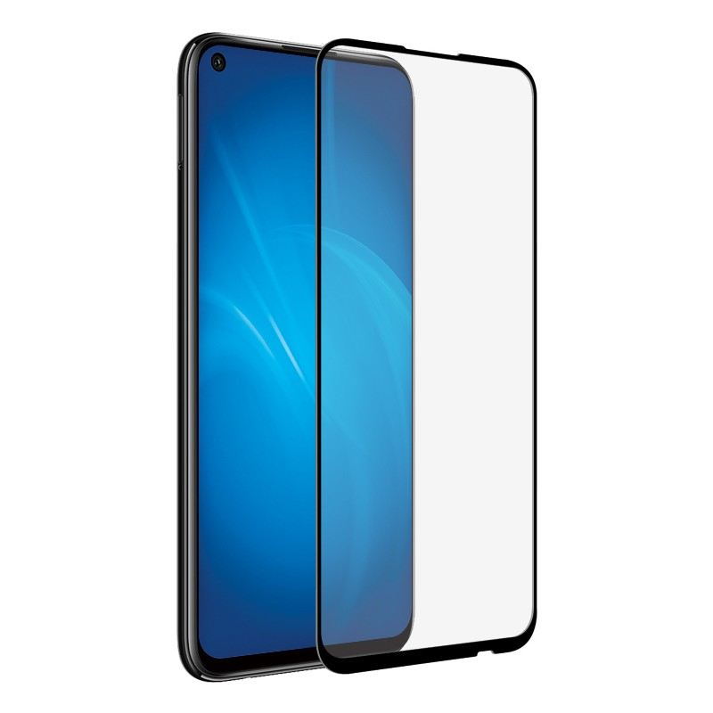 Защитный экран Red Line для Huawei P40 Lite Full Screen Tempered Glass Full Glue Black УТ000020704