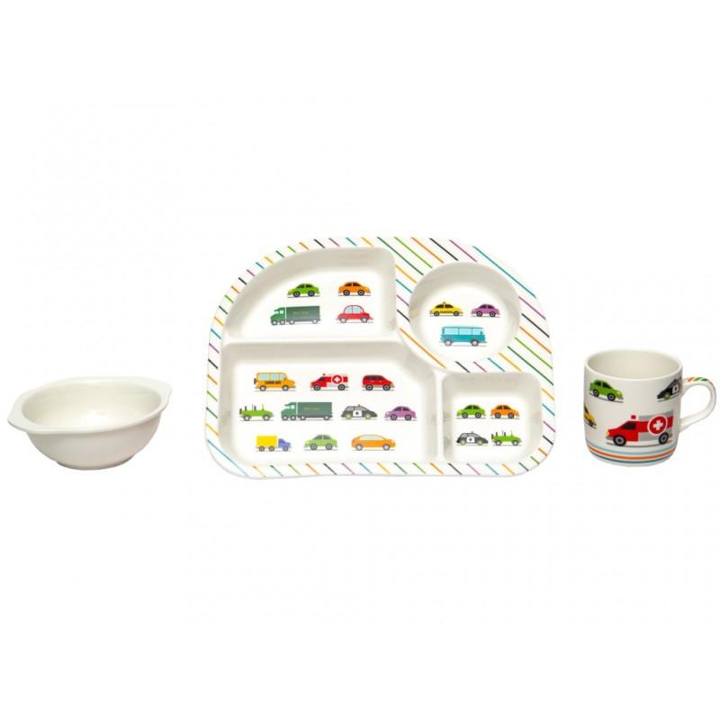 Набор детской посуды Lavenir Машинки 192-47085