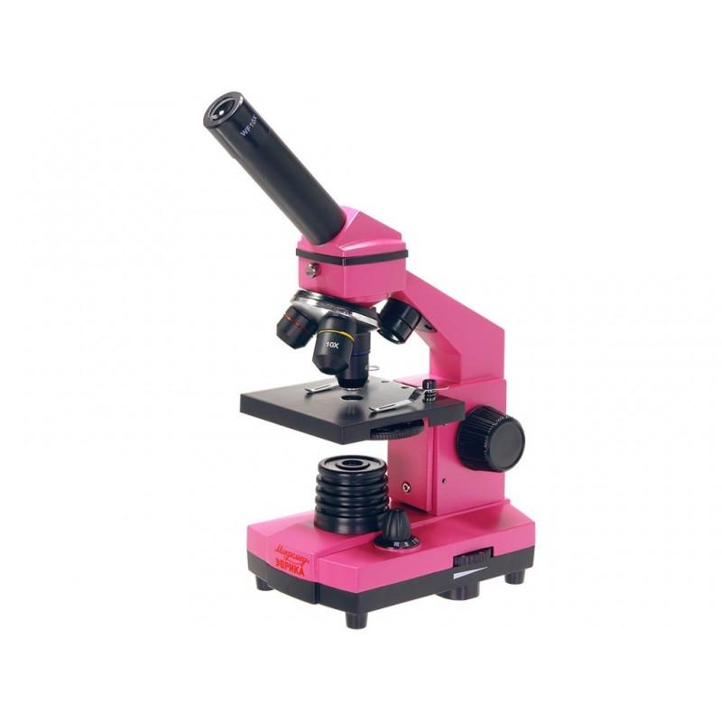 Микроскоп Микромед Эврика 40x-400x Fuchsia