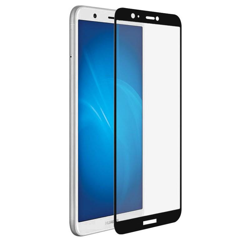 Противоударное стекло Innovation для Huawei P Smart 2D Full Glue Cover Black 12648