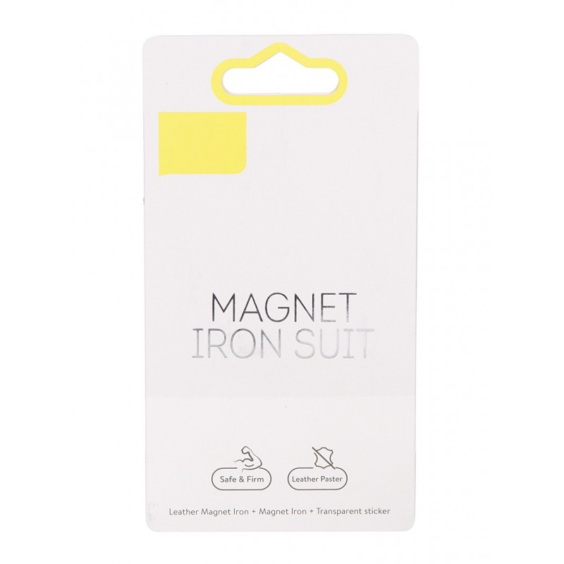 Металлические пластинки Baseus Magnet iron Suit Silver ACDR-A0S