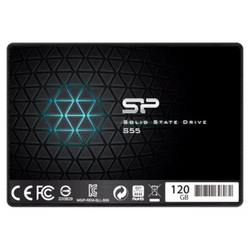 Твердотельный накопитель Silicon Power Slim S55 SATA III 120Gb SP120GBSS3S55S25
