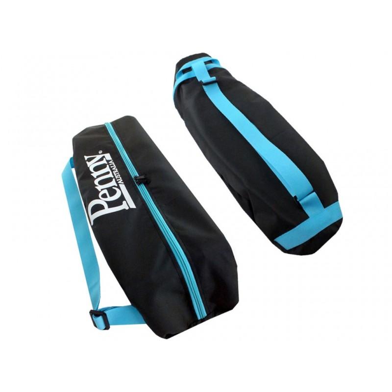 Чехол для пенниборда Skatebox 27 Black-Light Blue-White lb2-black-blue-white