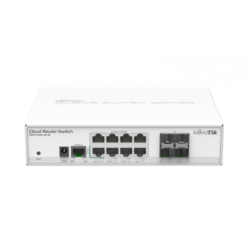 Коммутатор MikroTik Cloud Router Switch CRS112-8G-4S-IN