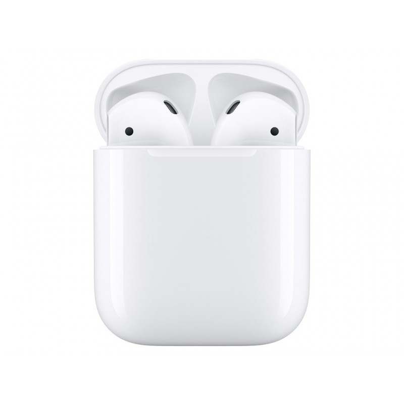 Наушники Apple AirPods (ver2) Soft Touch Silicone Yellow Case в зарядном футляре MV7N2RU/A Выгодный набор + серт. 200Р!!!