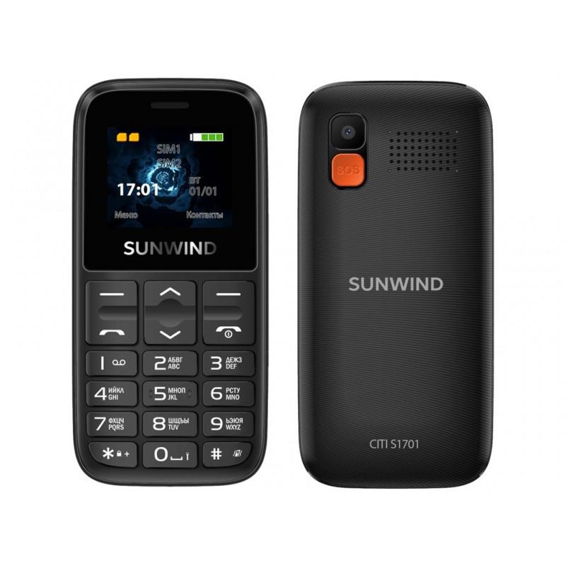 Сотовый телефон SunWind CITI S1701 Black