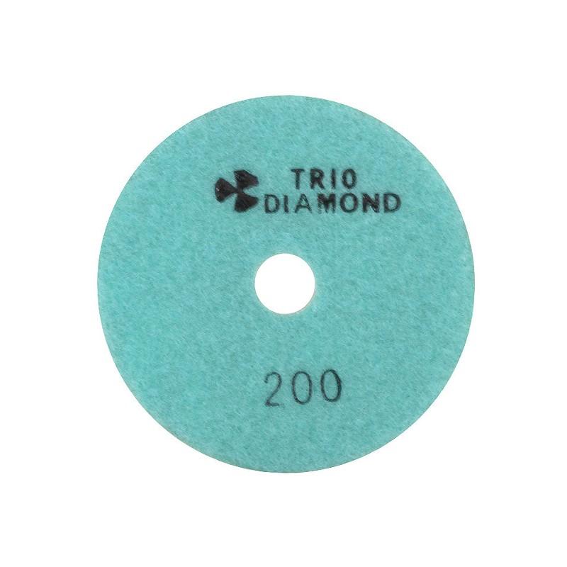 Шлифовальный круг Trio Diamond Черепашка 100mm №200 340200