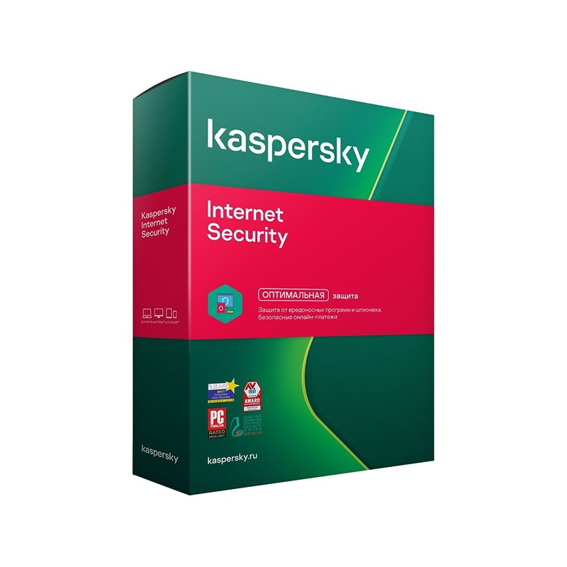 Программное обеспечение Kaspersky Internet Security Rus 5-Device 1 year Base Box KL1939RBEFS