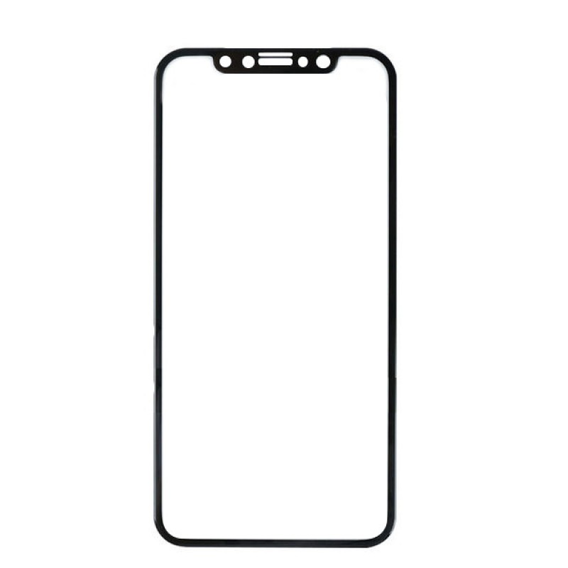 Аксессуар Защитное стекло Red Line для APPLE iPhone X / XS Full Screen Tempered Glass Black УТ000012297