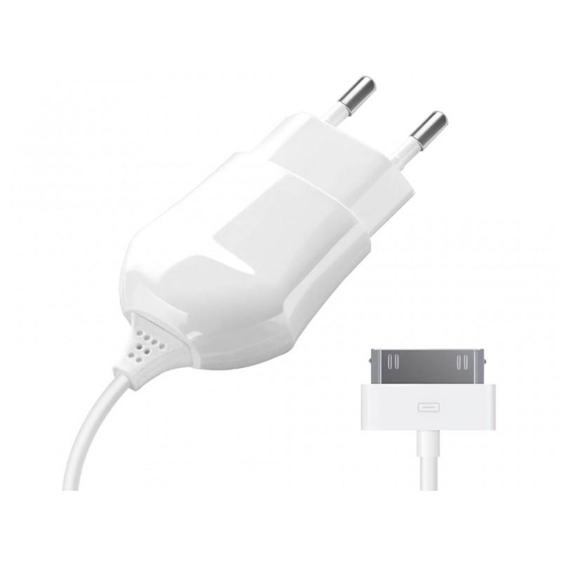 Зарядное устройство Deppa для iPhone/iPod 30pin 1A White 23124