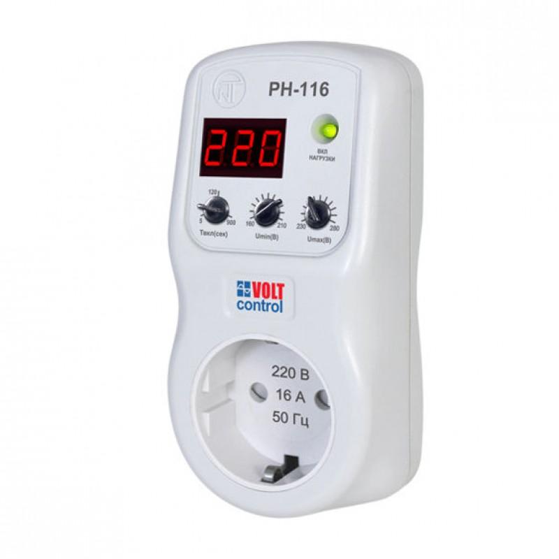 Реле контроля напряжения Новатек-Электро PH-116