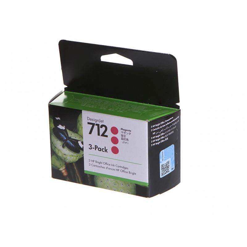 Картридж HP 712 29ml Magenta 3ED78A для DesignJet Studio/DesignJet T230/T630