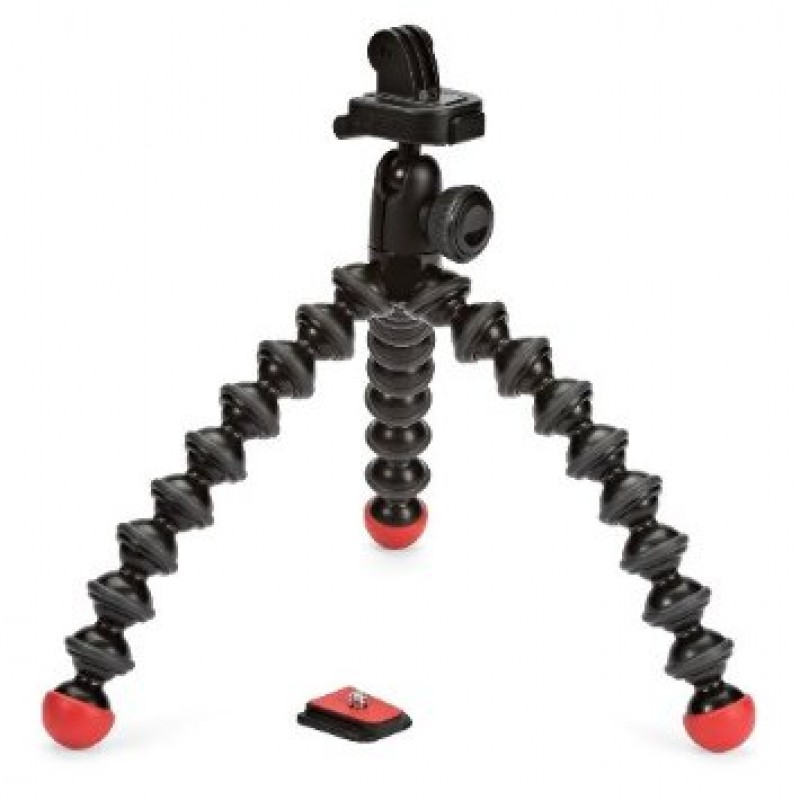 Штатив Штатив Joby GorillaPod Action Tripod with Mount для GoPro Black/Red JB01300-BWW