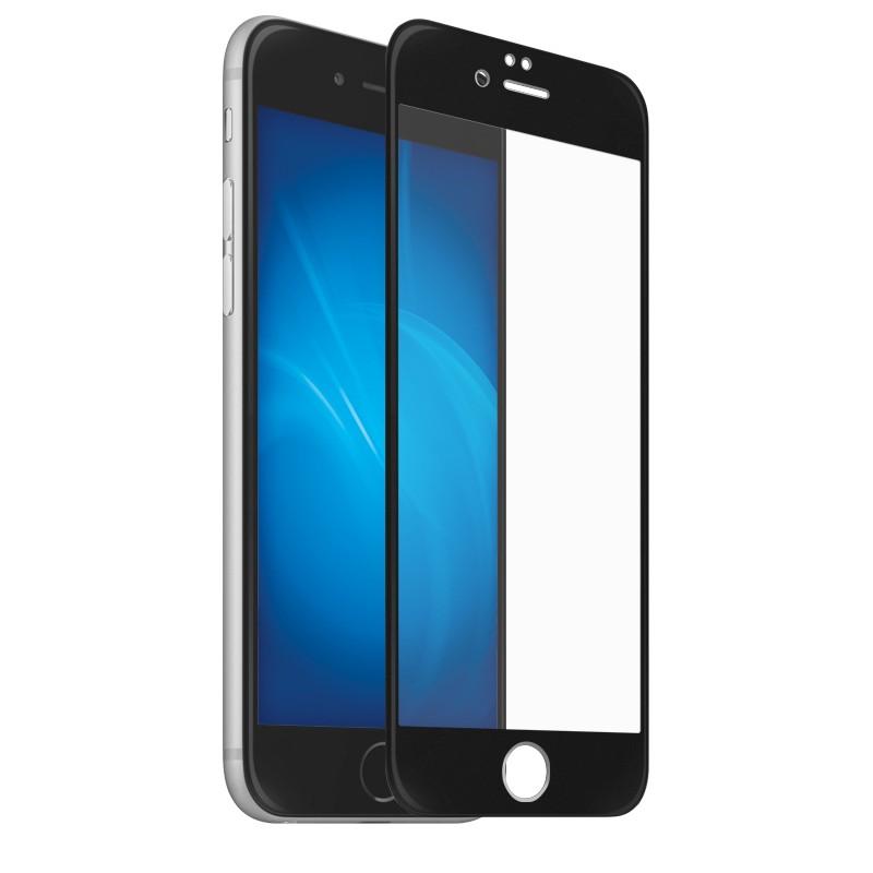 Защитный экран Red Line для APPLE iPhone SE 2020 Full Screen Tempered Glass Full Glue Black УТ000020569