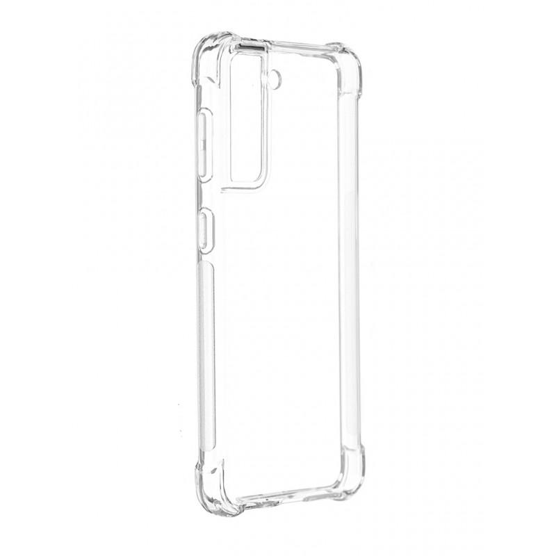 Чехол-накладка Brosco для Samsung S21 SS-S21-HARD-TPU-TRANSPARENT